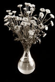 Bouquet of flowers in a vase — Stock Photo