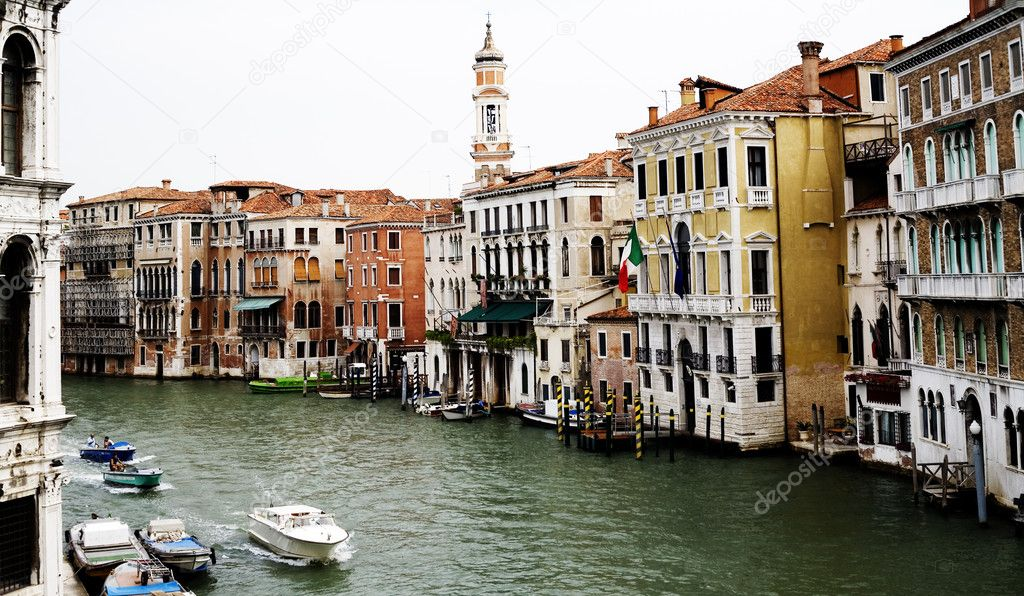 Venice, View from a Bridge. Italy. — Stock Photo #3176152