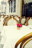 Small restaurant in Venice — Stock Photo