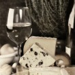 Wine and cheese — Stock Photo #3868760