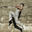 Street dancer — Stock Photo #3552228