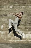 Street dancer — Stock Photo