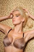 портрет красивой сексуальной женщины — Стоковое фото