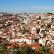 Cityscape of Lisbon in Portugal - Stock Photo