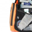 Orange toiletry bag — Stock Photo