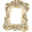 Royalty-Free Stock Photo: Gold metal frame