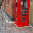 British telephone booth — Stock Photo
