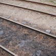 Railway tracks — Stockfoto