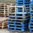Wooden pallets — Foto de Stock