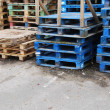 Stock Photo: Wooden pallets