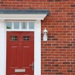 Red brick house (detail) — Stock Photo #3905727