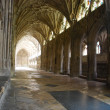 The Cloister in Gloucester Cathedral - 图库照片