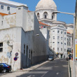 Stock Photo: SantEngracichurch in Lisbon