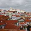 Sao Vicente de Fora church in Lisbon — Stock Photo