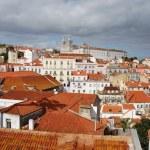 Sao Vicente de Fora church in Lisbon — Stock Photo #3906575