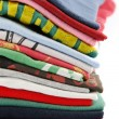 Stock Photo: Colorful t-shirts