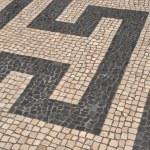 Portuguese sidewalk pavement — Stock Photo #3907059