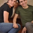 Sister and brother friendship — Stock Photo