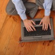 Man surfing the web — Stock Photo