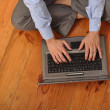 Man surfing the web — Stock Photo #3907234