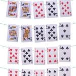 Poker hands rankings — Stock Photo