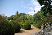 Enchanted Ajuda garden in Lisbon, Portugal — Stock Photo