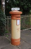 British postbox — Stock Photo