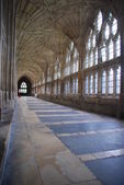 The Cloister in Gloucester Cathedral — Stock Photo