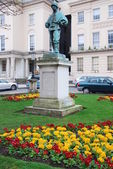 Edward Adrian Wilson statue in Cheltenham — Stock Photo