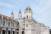 Hieronymites Monastery in Lisbon — Stock Photo