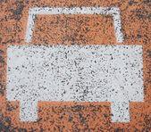 Car sign — Stock Photo