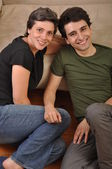 Sister and brother friendship — Foto Stock