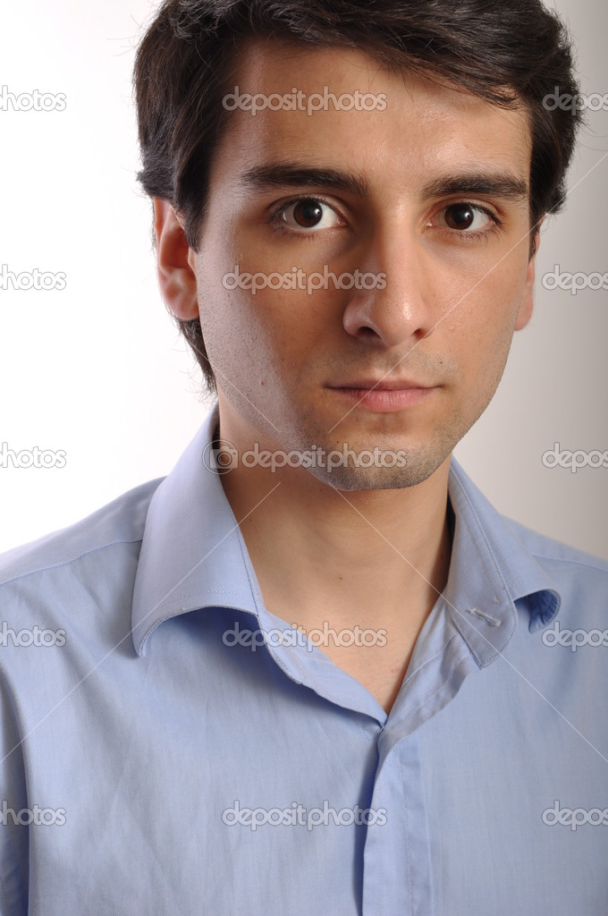 Portrait of a handsome young trainee starting business career — Stock Photo #3907250