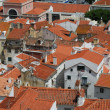 Lisbon rooftops view — Stock Photo
