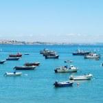 Boat harbor in Cascais, Portugal — Stock Photo #3910471