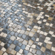 Colorful stones pavement also know as calcada — Stock Photo #3910667