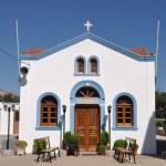 Greek church — Stock Photo