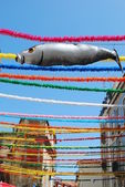 Typical Sardine on Feast Days of the Popular Saints in Lisbon — Stock Photo