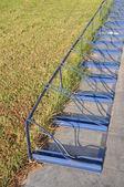 Bicycle rack — Stock Photo
