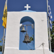 Greek belfry - Stock Photo