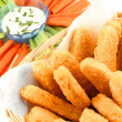 Royalty-Free Stock Photo: Golden chicken fingers