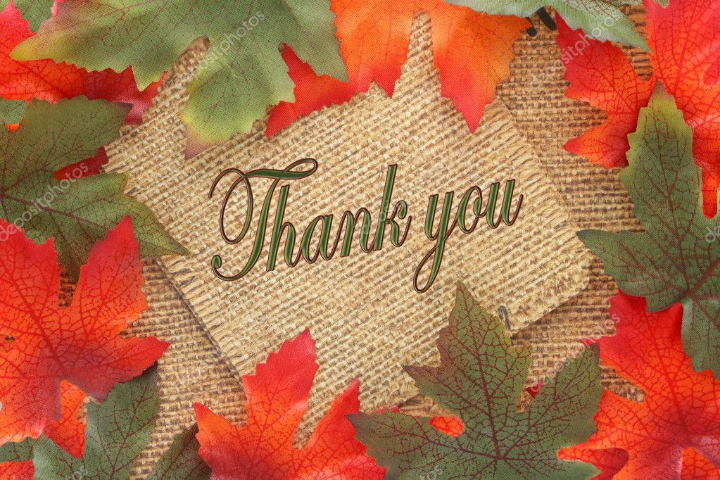 Image result for fall thank you images