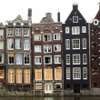 Amsterdam houses — Stock Photo