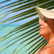 Tropical beach woman — Stock Photo #2734069