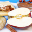 Apples and cinnamon — Stock Photo #2734257