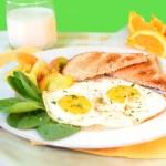 Breakfast eggs — Stock Photo #2734267