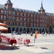 Stock Photo: Madrid plaza