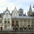 Ghent architecture — Stock Photo