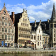 Stock Photo: Ghent canal