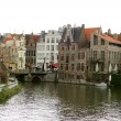 Belgian canal — Stock Photo